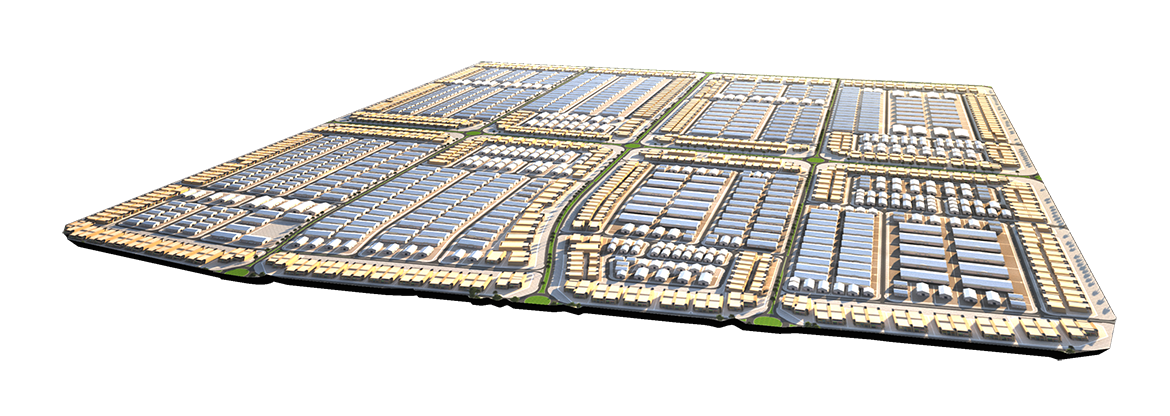 Architectural design of Warehouses and Open Yards in UAE
