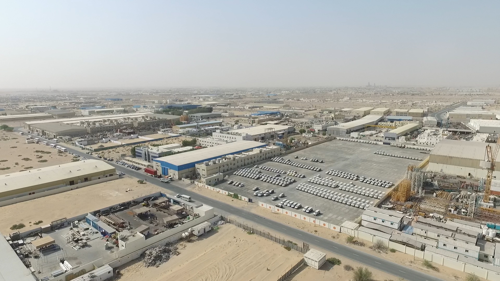 Emirates Industrial for Cities Industrial lands in Sharjah