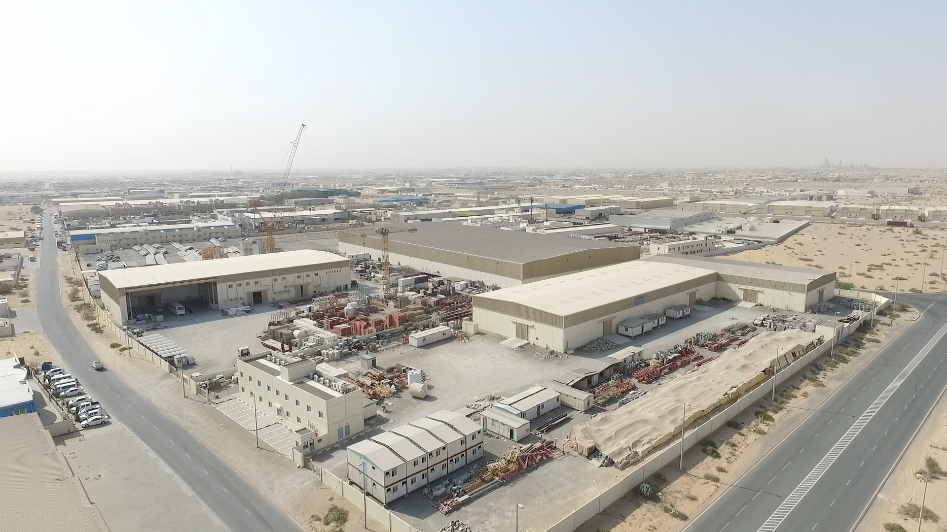 Emirates Industrial for Cities Industrial Plots and Warehouses in Sharjah