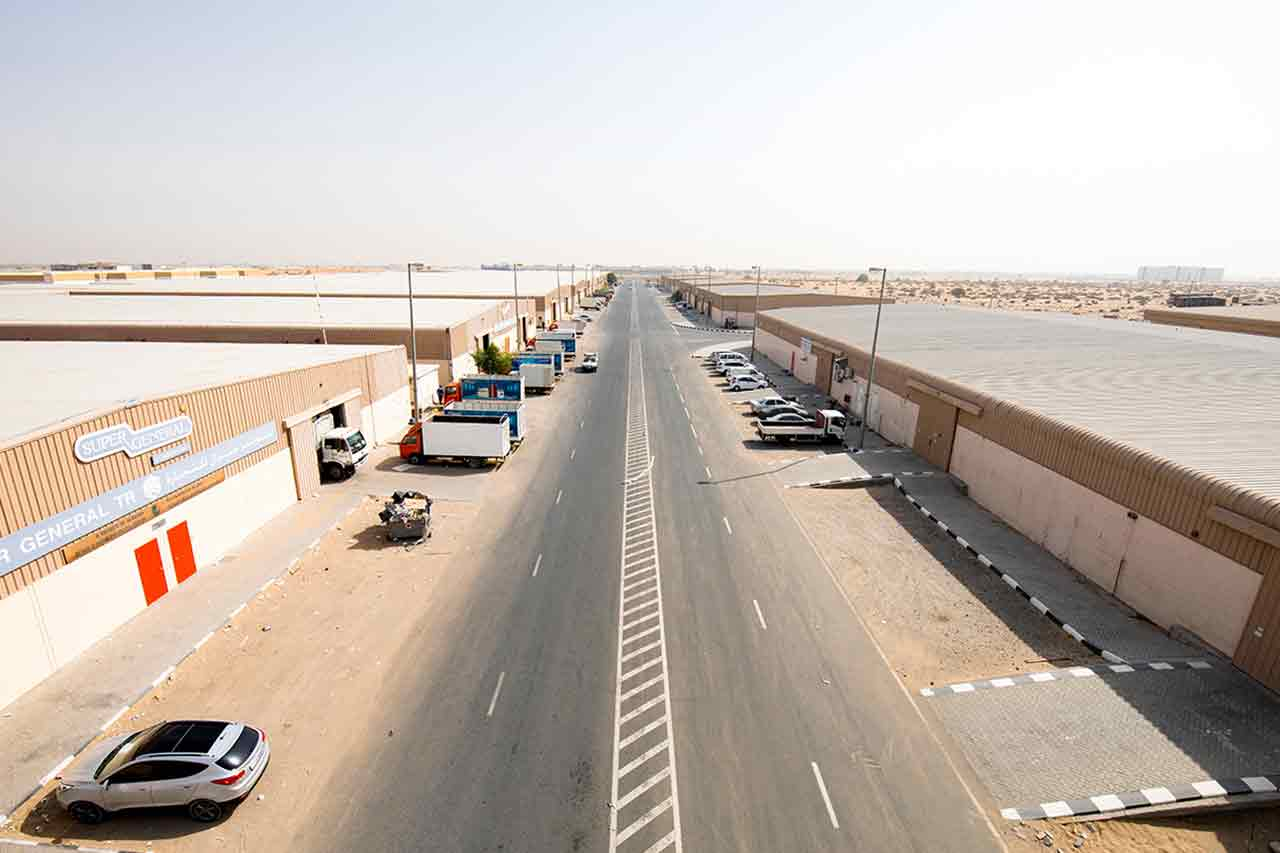 eic-warehouse for freehold in sharjah uae near sharjah airport