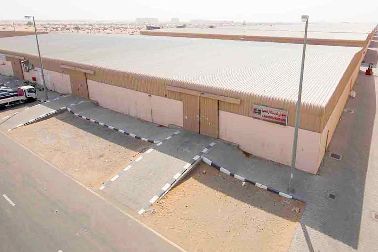 eic-warehouse for logistics traders near Dubai airport in sharjah
