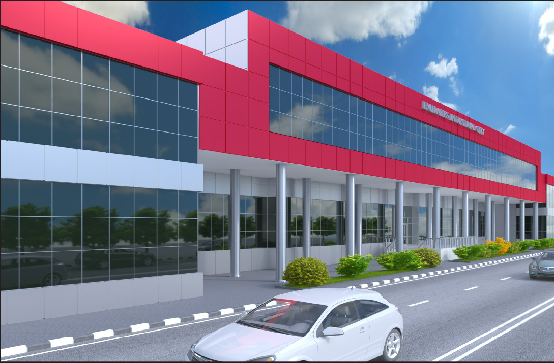 office admin building showroom for sale