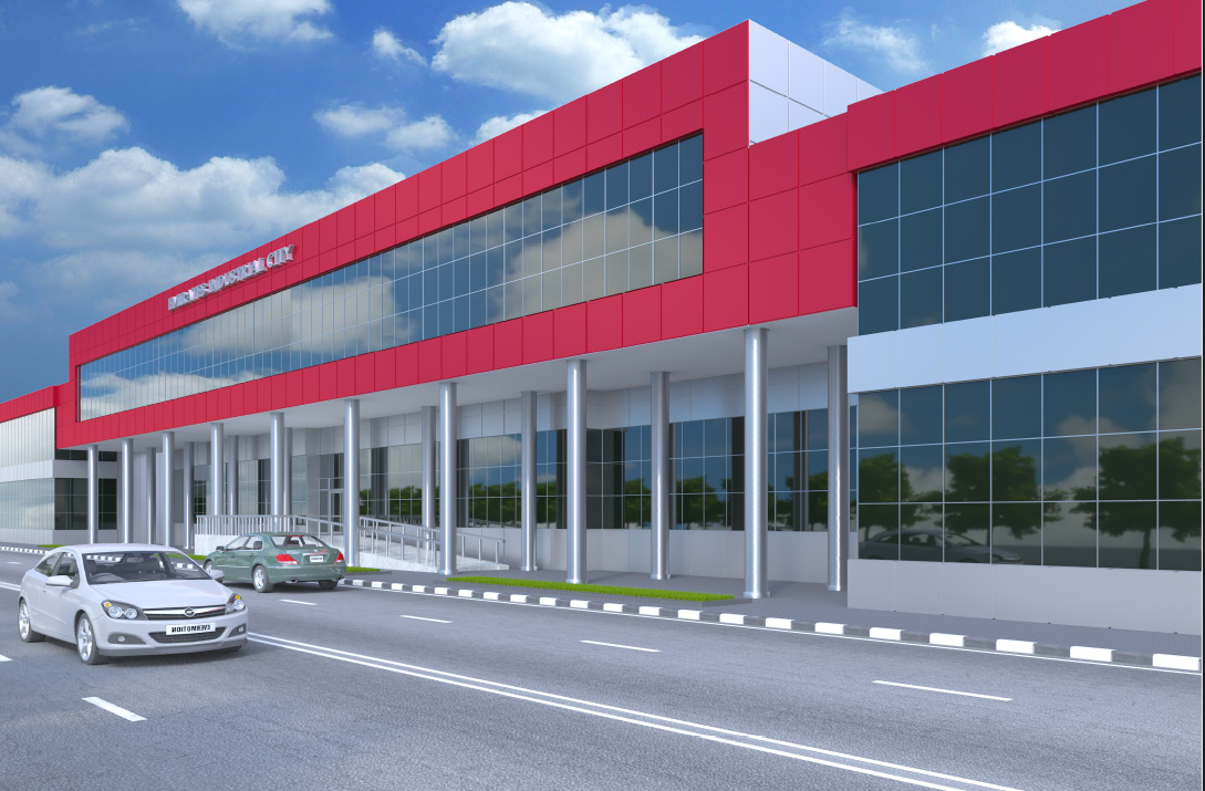 Emirates Industrial city office showrooms Sharjah